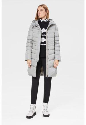 Down coat - light grey