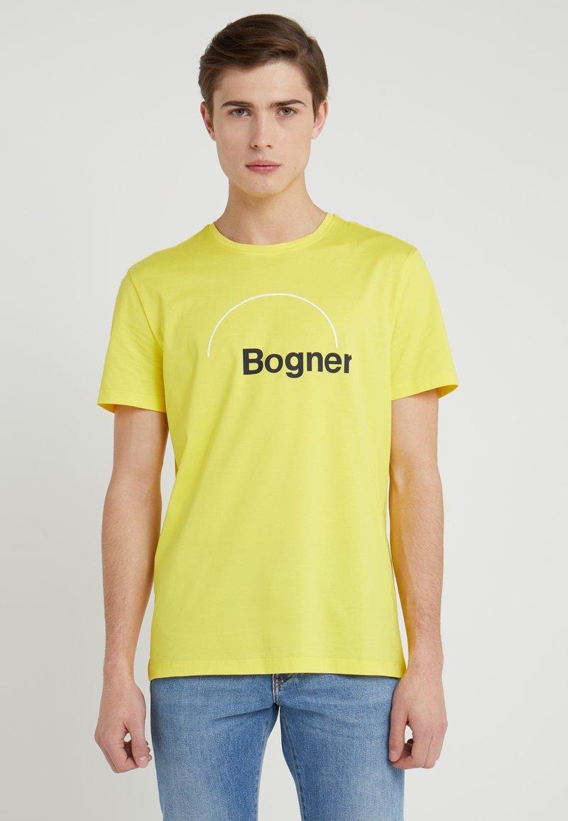 Bogner - ROC - Print T-shirt - yellow