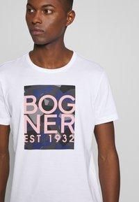 Bogner - ROC - Triko spotiskem - white - 5