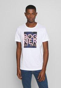 Bogner - ROC - Triko spotiskem - white - 0