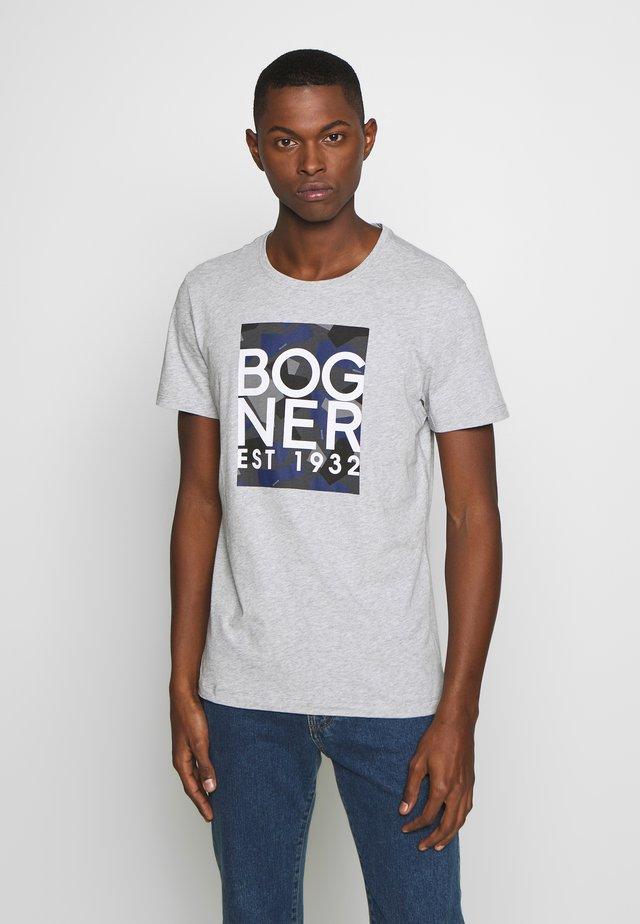 ROC - T-shirt med print - grey