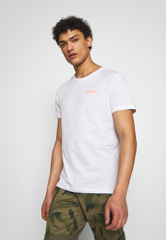 ROC - T-shirt med print - white