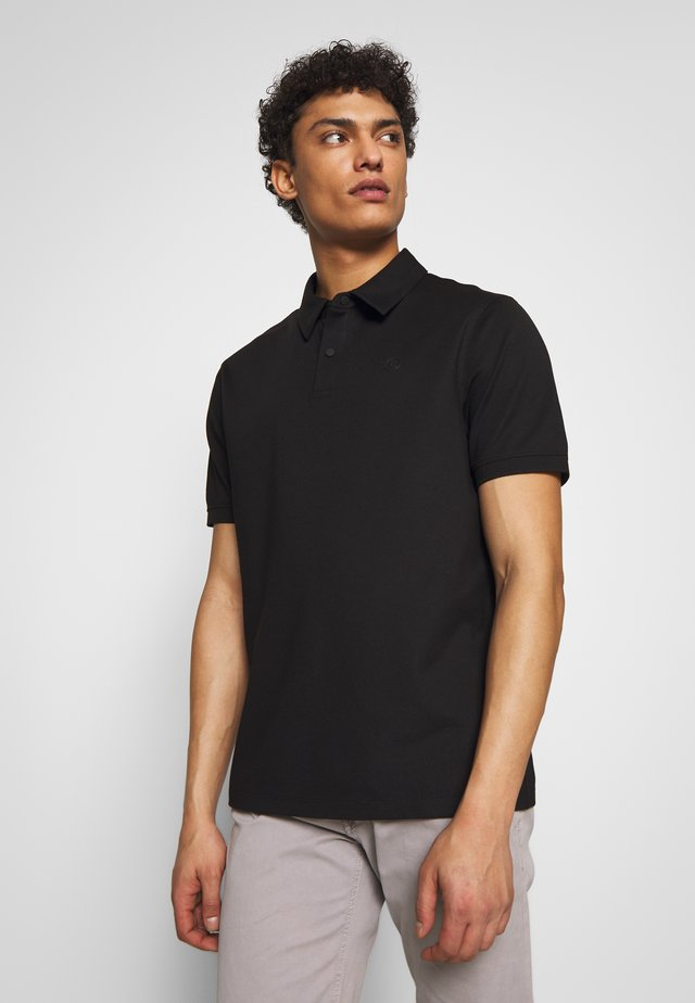 TIMO - Polo shirt - black