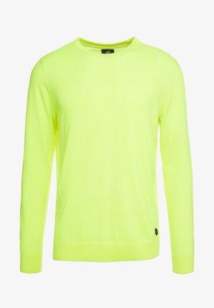 ARNOS - Svetr - neon yellow