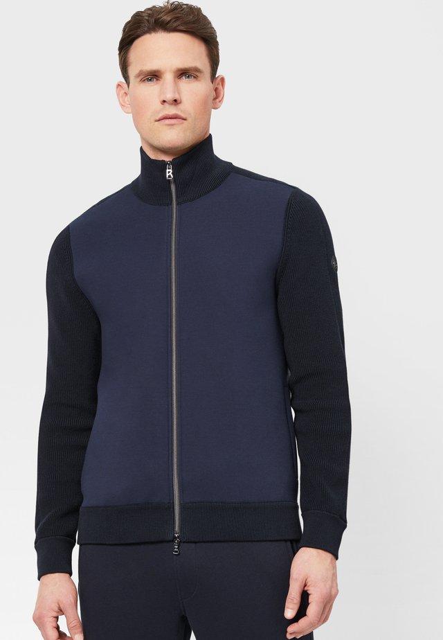 SILAS - veste en sweat zippée - navy