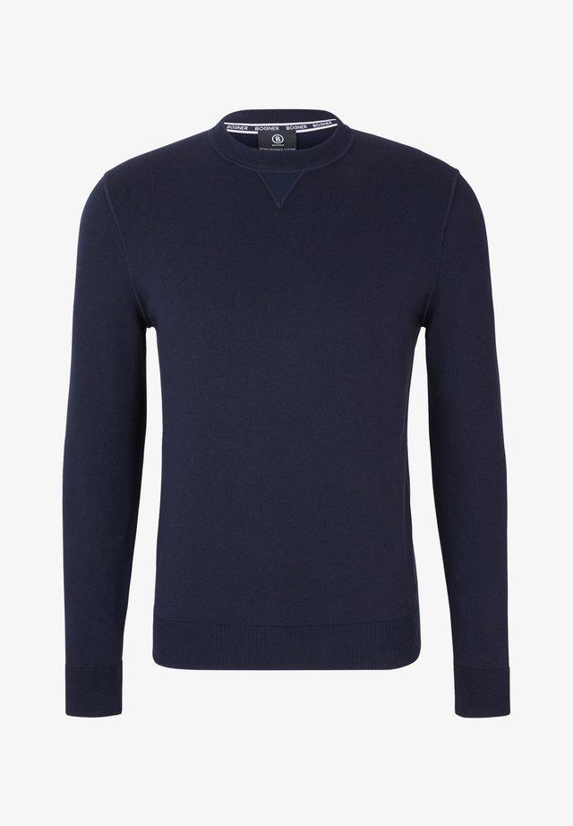 STRICK ANTIGU - Jumper - navy blue