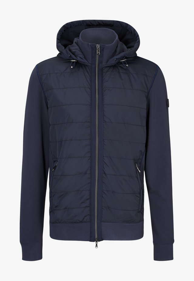 BOGNER HYBRID-JACKE MAROON - Light jacket - navy blue
