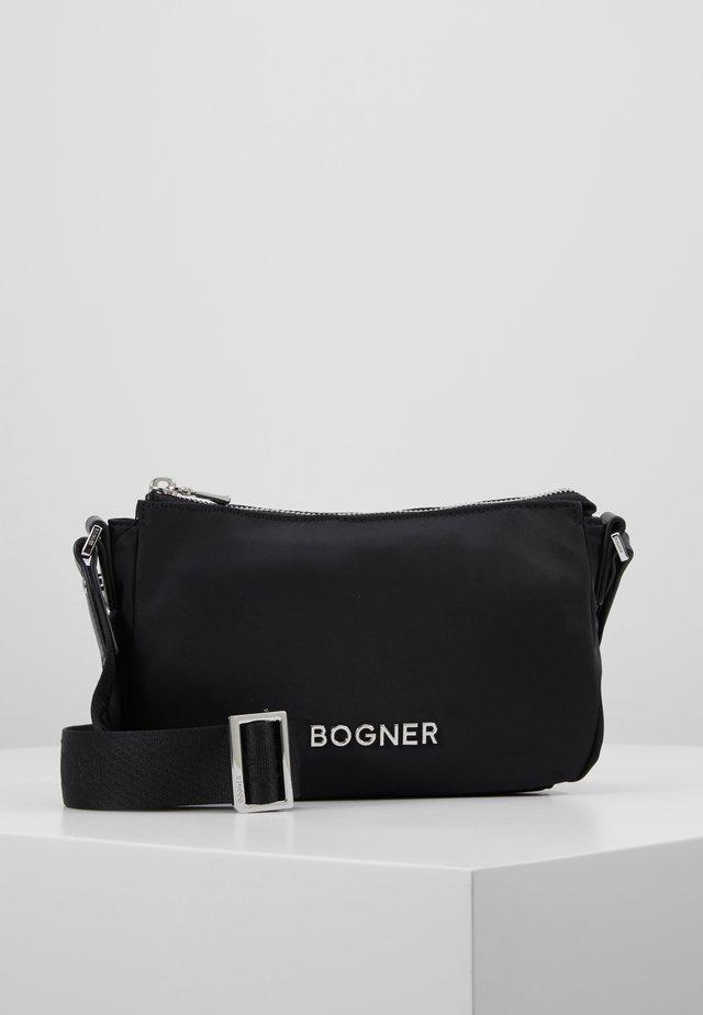 KLOSTERS SHOULDERBAG - Across body bag - black