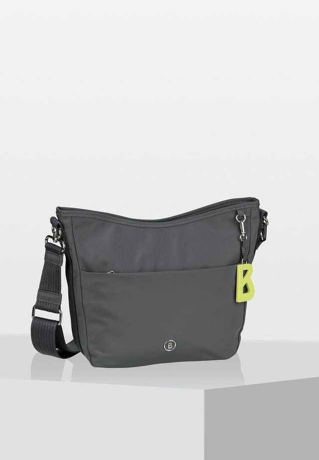 VERBIER  - Across body bag - dark grey