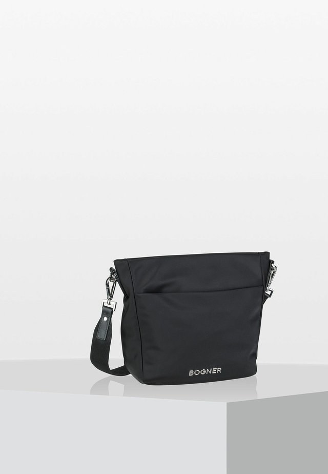 KLOSTERS JUNA - Across body bag - black
