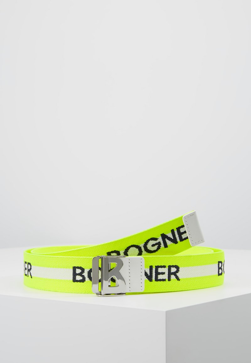 Bogner - PFELDERS SACHA BOXBELT - Pasek - yellow