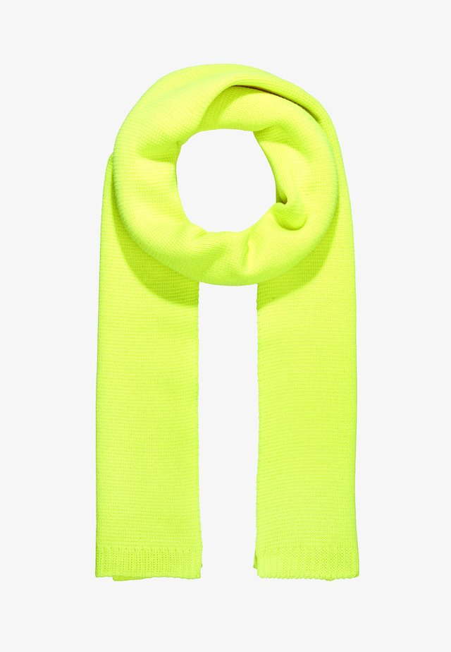SCARF - Sjaal - neon yellow