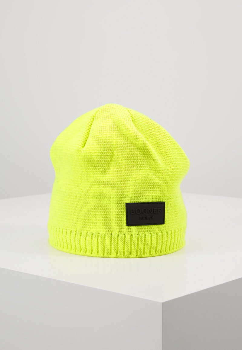 Bogner - FREDDY - Czapka - neon yellow
