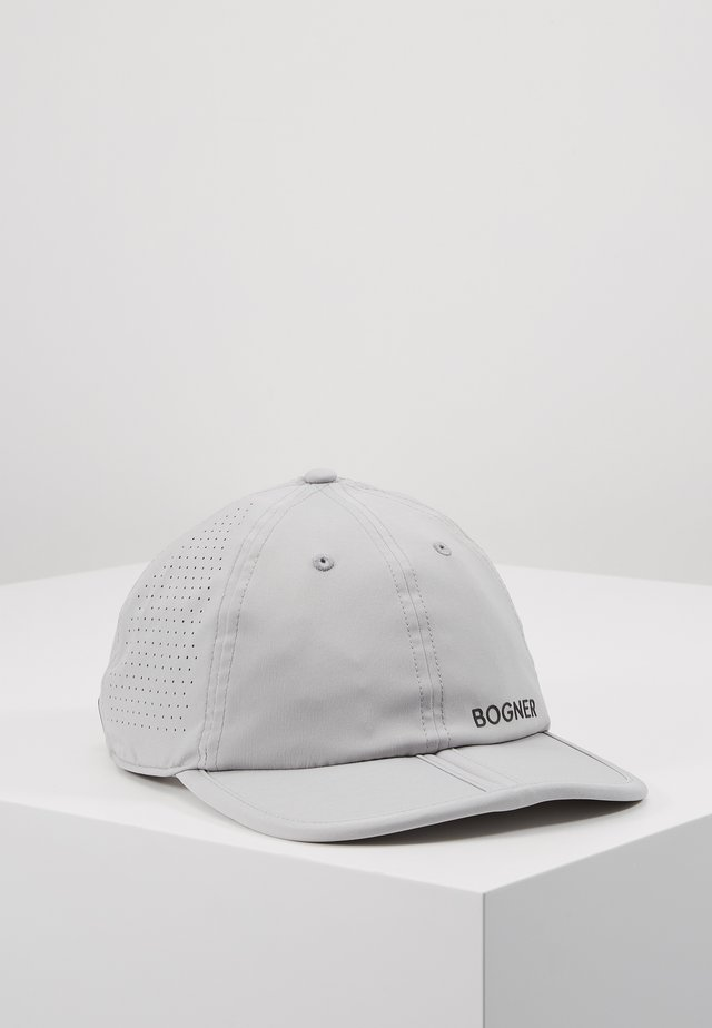 Cap - mottled grey