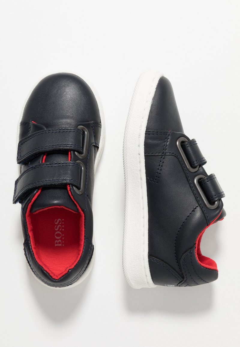 BOSS Kidswear - TURNSCHUHE - Zapatillas - marine