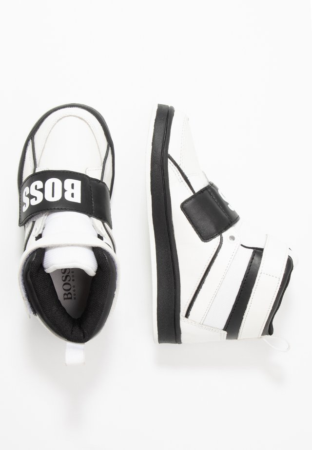 TURNSCHUHE - Sneakers hoog - schwarz/weiß
