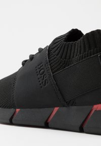 BOSS Kidswear - TRAINERS  - Matalavartiset tennarit - black - 5
