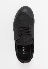 BOSS Kidswear - TRAINERS  - Matalavartiset tennarit - black - 1