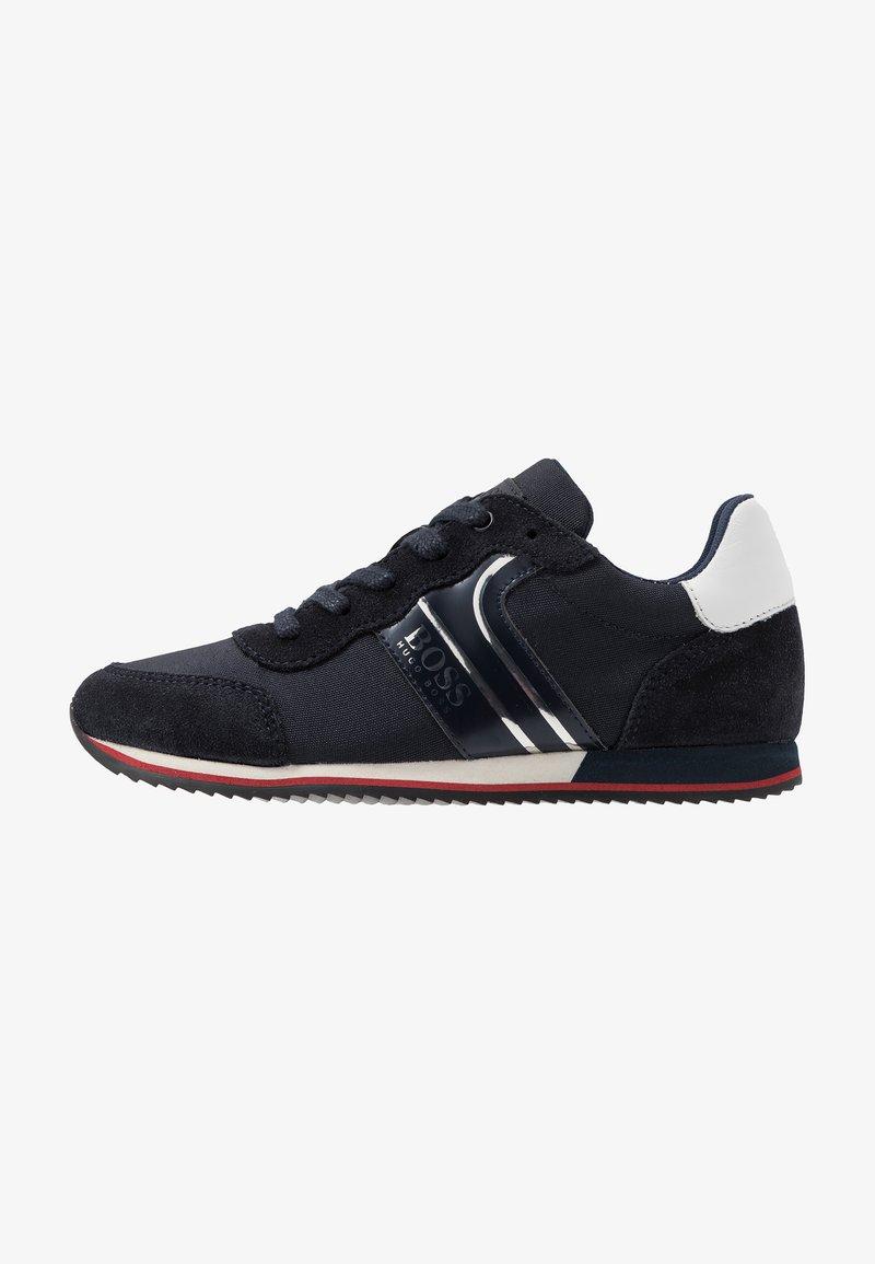 BOSS Kidswear - TRAINERS - Sneakers basse - navy