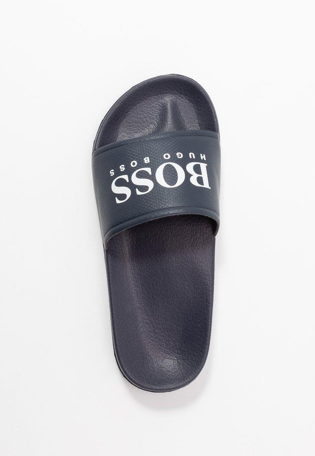 SLIDE - Pantofle - navy