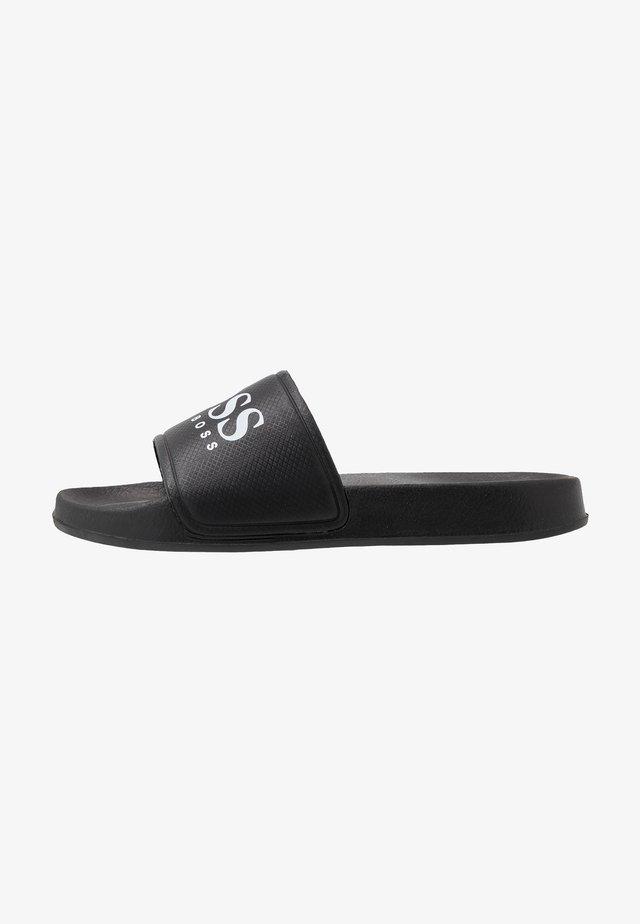 SLIDE - Pantofle - black