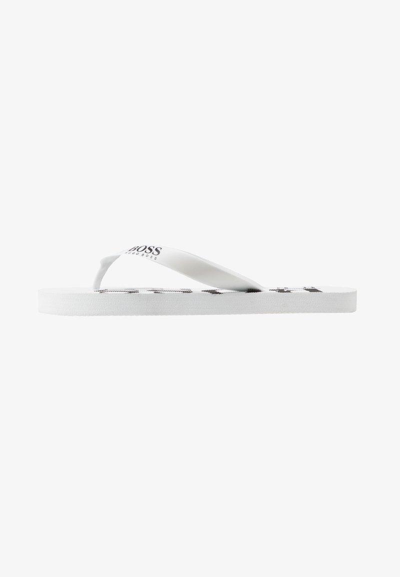 BOSS Kidswear - Varvassandaalit - white