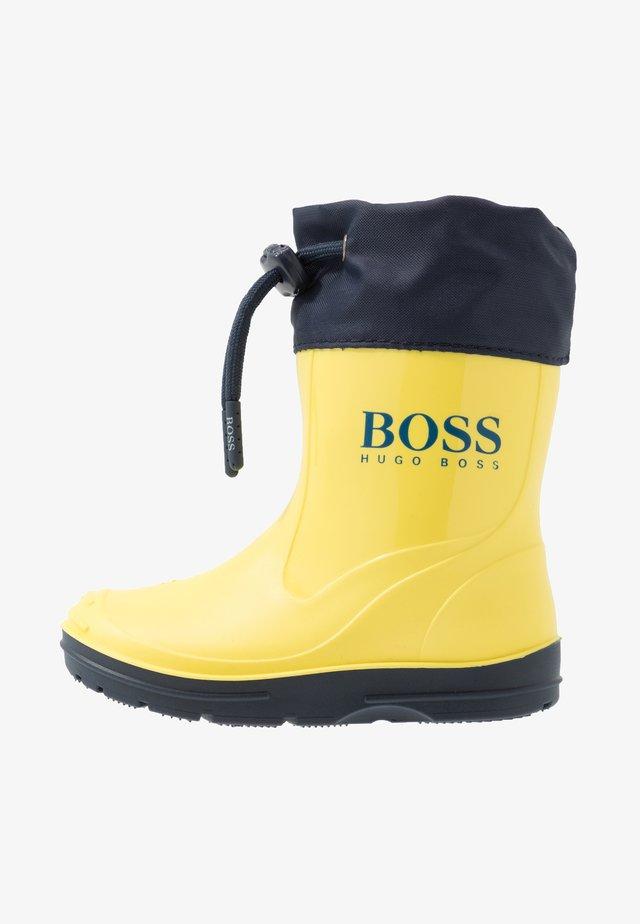 WELLIES - Botas de agua - yellow