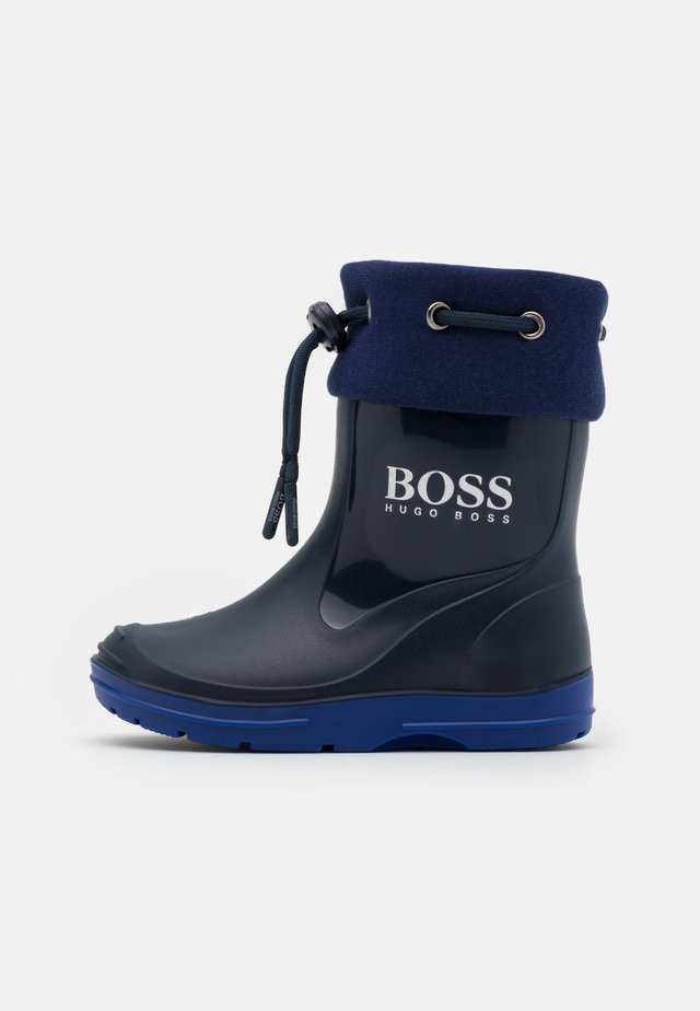 WELLIES - Gummistövlar - navy