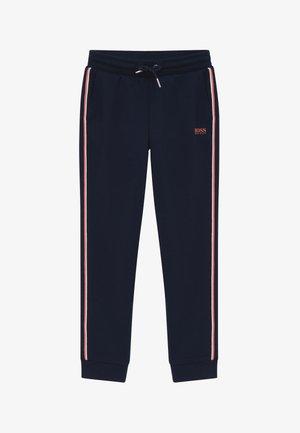 BOTTOMS - Teplákové kalhoty - navy