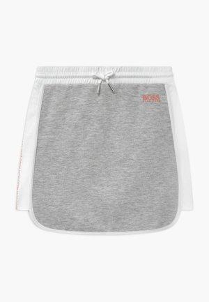 Mini skirt - chine grey