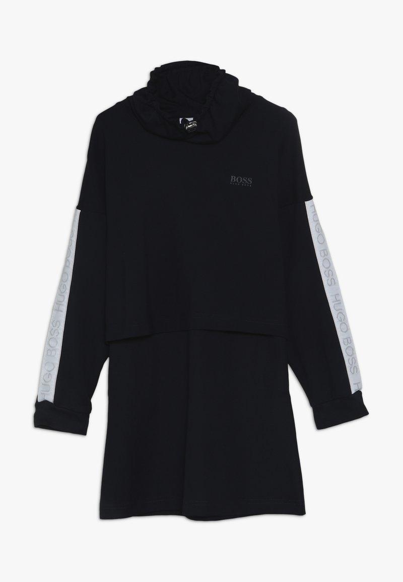 BOSS Kidswear - Jersey dress - marine