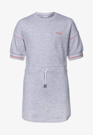 DRESS - Žerzejové šaty - chine grey