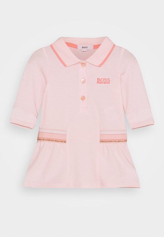 DRESS BABY - Korte jurk - pink pale
