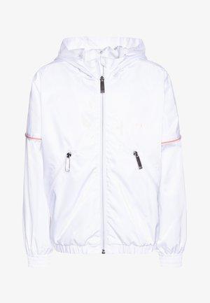 WINDBREAKER - Vodotěsná bunda - white