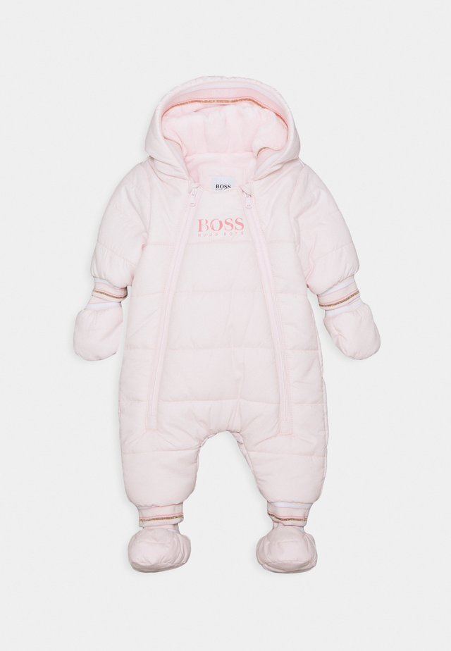 ALL IN ONE BABY - Combinaison de ski - pinkpale