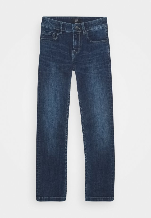 TROUSERS - Jeansy Slim Fit - stone pulverisation