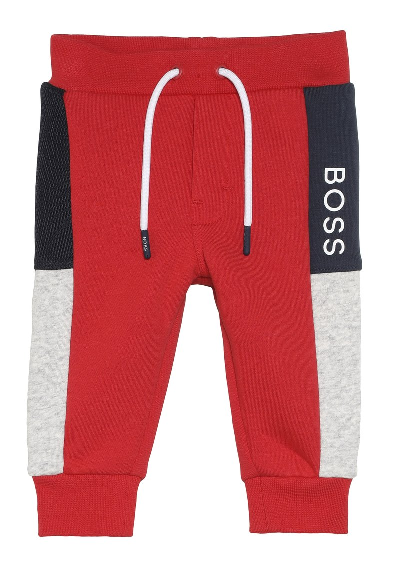 BOSS Kidswear - Tracksuit bottoms - new red
