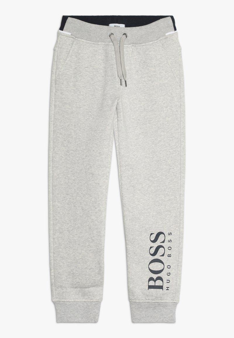 BOSS Kidswear - Træningsbukser - mottled light grey
