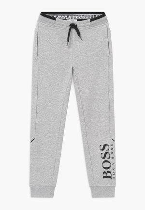 BOTTOMS - Teplákové kalhoty - chine grey
