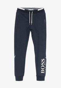 BOSS Kidswear - BOTTOMS - Trainingsbroek - navy - 3