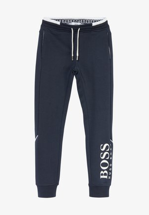 BOTTOMS - Tracksuit bottoms - navy