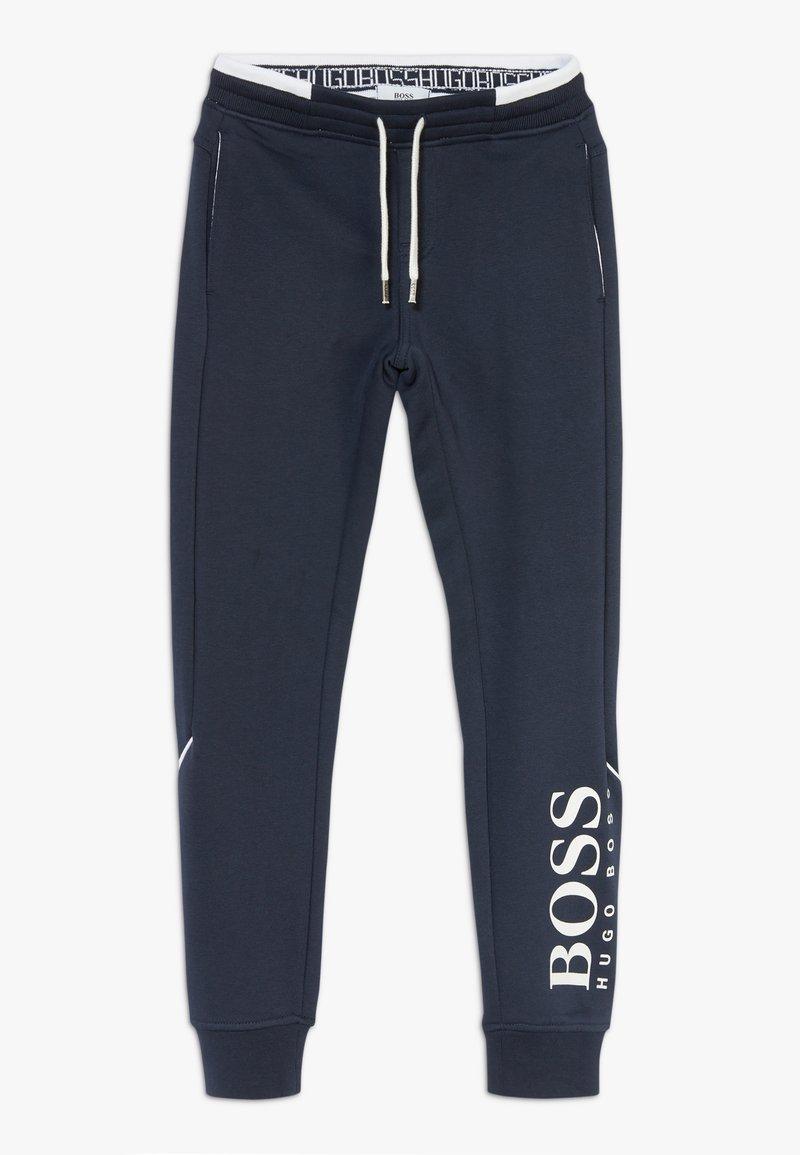 BOSS Kidswear - BOTTOMS - Trainingsbroek - navy