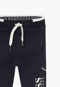 BOSS Kidswear - JOGGING BOTTOMS - Bukse - bleu cargo - 3