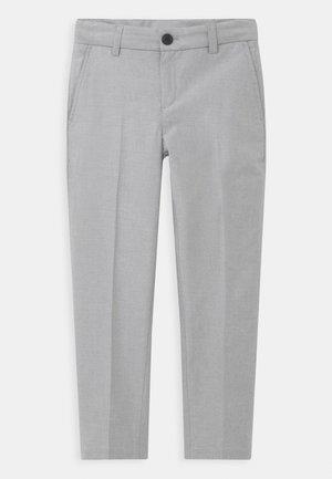 CEREMONY - Pantalon de costume - mottled light grey