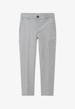 CEREMONY - Suit trousers - mottled light grey