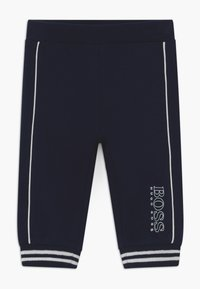 BOSS Kidswear - JOGGING BOTTOMS - Trousers - bleu cargo - 0