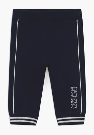 JOGGING BOTTOMS - Bukse - bleu cargo