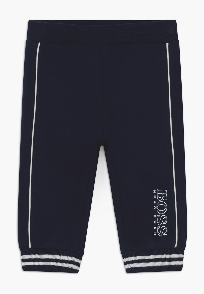 BOSS Kidswear - JOGGING BOTTOMS - Trousers - bleu cargo
