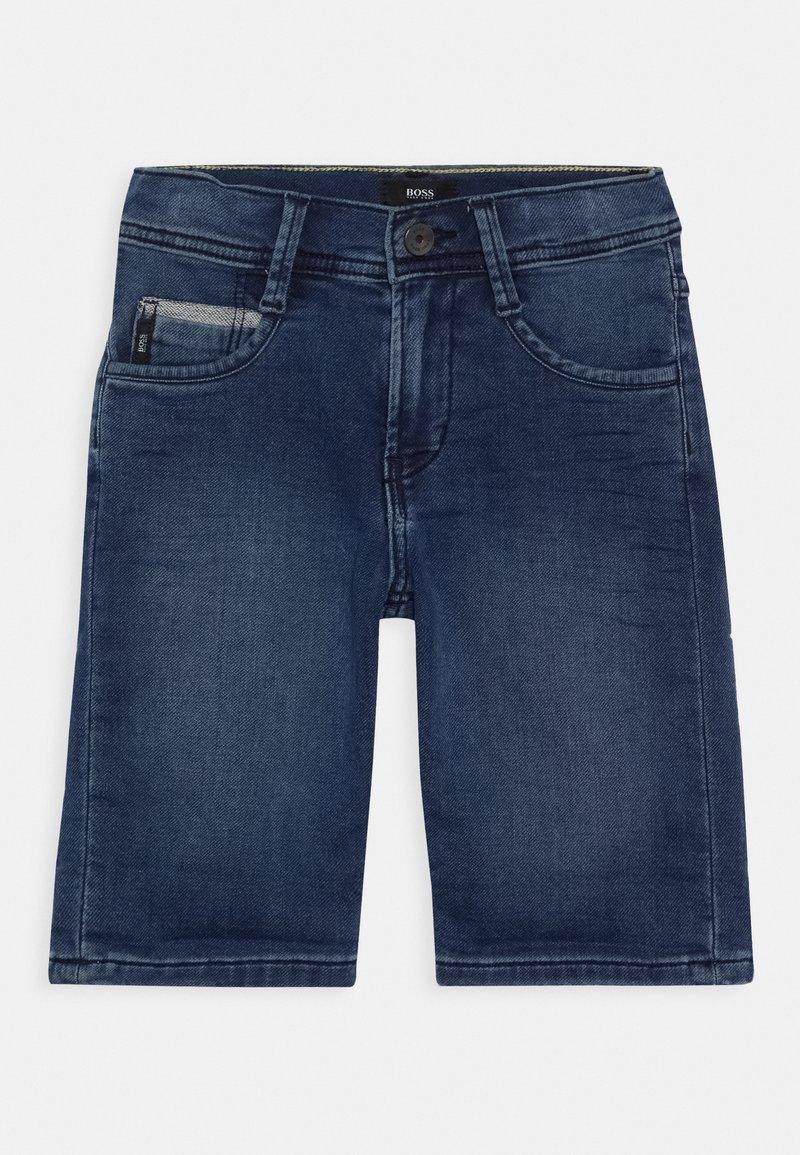BOSS Kidswear - BERMUDA - Shorts vaqueros - stone