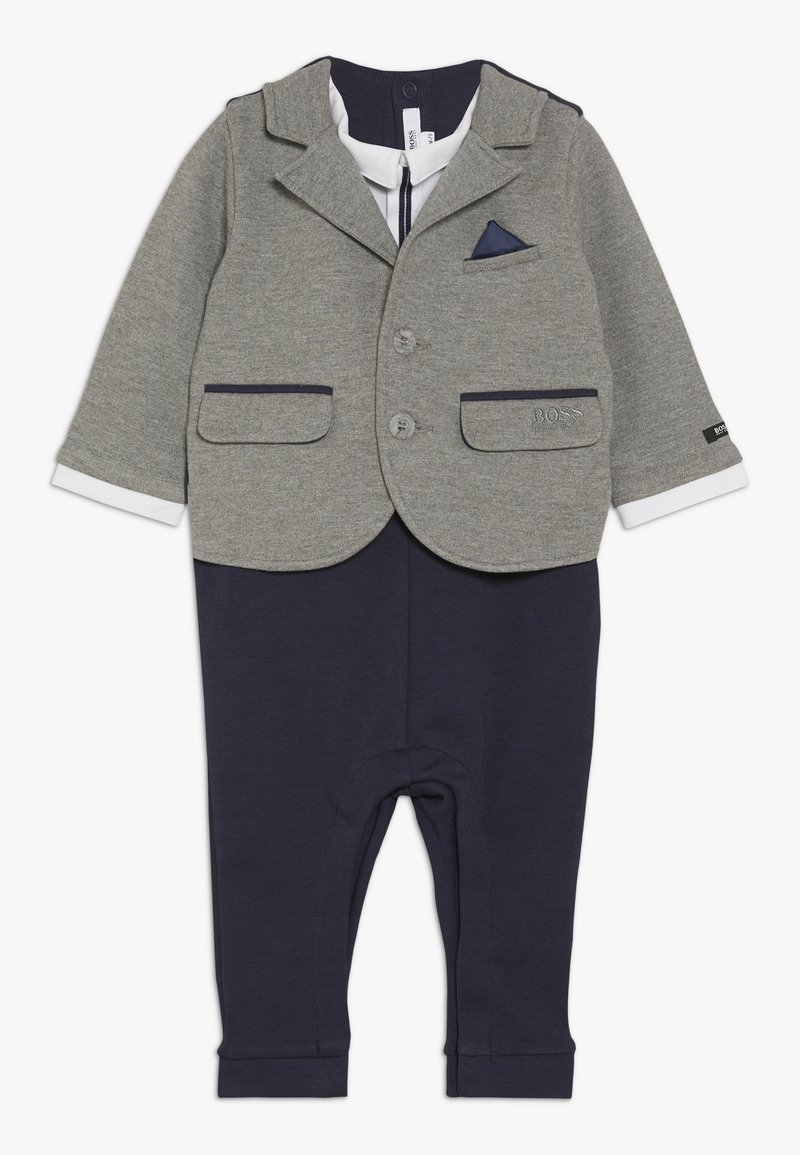 BOSS Kidswear - OVERALL - Jumpsuit - gris marine